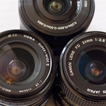 24mm Legacy Lens Comparison on Sony Full Frame and APS-C Cameras