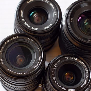 Legacy 28mm Lenses and Modern Kit Lens Comparison
